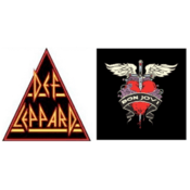 Radio Def Leppard versus Bon Jovi