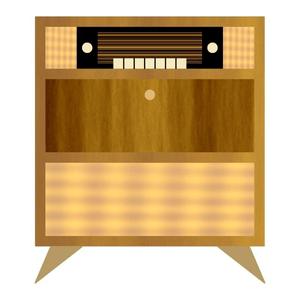 Radio musiktruhe